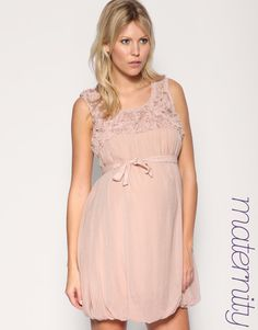 maternity :) this dress is too cute for words, plus i love the color!