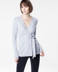 Open belted cardigan   RW&CO.