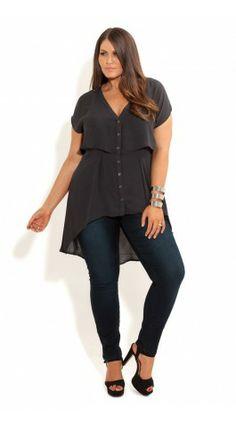 Plus Size Shirt - City Chic