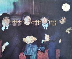 John Lennon, George Harrison, Paul McCartney, and Richard Starkey