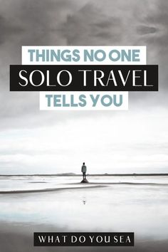 When it comes to solo traveling as a female, there are lots of things that no one really talks about. This post outlines mistakes you'll want to avoid as a solo traveler, solo travel destinations, and tips for staying safe on the road. I believe that all women should travel solo at least once in their life! Let these pave the way to your adventure! #solotravel #solofemaletravel