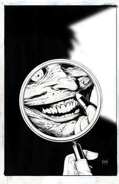 Joker, DC Comics art by Greg Capullo