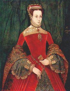 Ганс Эворт.  Леди Мария Фитц-Алан, 1555г.