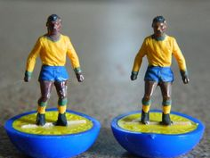 #Vintage 1970s #subbuteo - football h/w #spares - brazil - 1970 world cup edition,  View more on the LINK: http://www.zeppy.io/product/gb/2/142264806465/