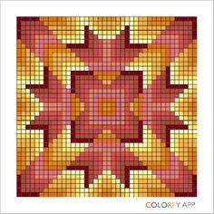 Autumn 2 Bargello Patterns, Bargello Quilts, Crochet Patterns, Cross Stitch Bookmarks, Cross Stitch Patterns, Quilting Tutorials, Quilting Designs, Twister Quilts, Watercolor Quilt