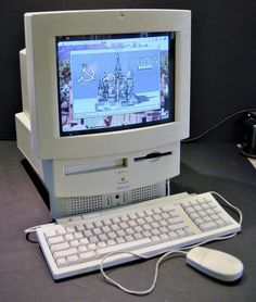 """My very first Apple computer purchased (1993) was a Macintosh Performa 575 features a 33 MHz 68LC040 processor, 5 MB of RAM, a 250 MB hard drive, and a 2X CD-ROM drive in a relatively compact all-in-one case with a 14"""" color display. Perhaps most notably, the Performa 575 was the first Performa model to introduce a new """"Comm"""" expansion slot that could be used for a modem, Ethernet connectivity, and more (this model had a modem pre-installed). - Robert G. De Vera deveradesignstudio.com"""