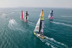 Meteorologists correctly predicted the upwind push to the east after leaving Sanya, China, on Sunday, would present the most difficult conditions yet in the 2014/15 round-the-world race.
