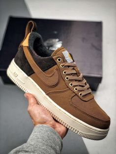NIKE AIR FORCE 1 X Carhartt WIP AA4113-200. top fashion shoes cac919b49