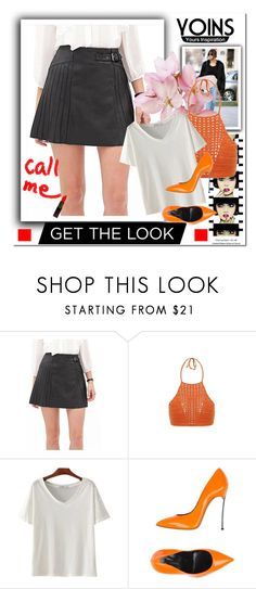 """""""yoins 19/3"""" by merima-k ❤ liked on Polyvore featuring Anja, Casadei, yoins, yoinscollection and loveyoins"""