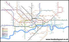 London Layout home page, alternative maps of transport network including, Docklands Light Railway, Tube, Overground and National Rail Services Docklands Light Railway, Train Map, National Rail, London Transport, London Underground, Old London, Planer, Maps, Transportation