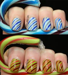 TrailerHood Chic: Colorful Candy Canes *Pic spam*