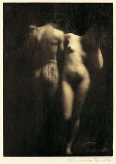 Adam and Eve, 1898 by Frank Eugene  (photogravure on Japanese paper, printed for Camera Work #30, 1910)
