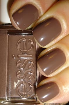 "My Chihuahua Bites!: Essie - ""Hot Coco"" Oooh I will be wearing this puppy in the fall..but no rush!! Bring on summer"