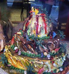Cake Wrecks - Home - Window Pain Beautiful Cakes, Amazing Cakes, Cakes Gone Wrong, Ugly Cakes, Bad Cakes, Scary Food, Food Fails, Cupcake Cakes, Cupcakes