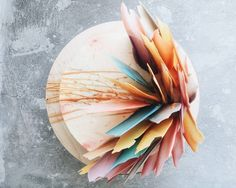 Brushstroke Cakes Are A Gorgeous New Wedding Trend - PureWow