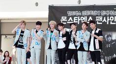 breathing Seoul: 150614 Fanaccount 몬스타엑스 MONSTA X 영등포 Fansign