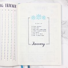 Templates!  I love her stuff. Bullet Journal January Header Template