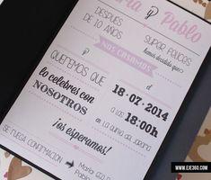 ¡Volvemos con nuevos modelos de invitaciones para bodas!  Todos los diseños se personalizan para cada boda, pudiendo elegir textos y detalles como cinta,cuerdas y etiquetas.   Colores a elegir entre: negro / rojo / azul / verde / rosa / blanco / beis para el exterior.  Todas las invitaciones se entregan ya [...]