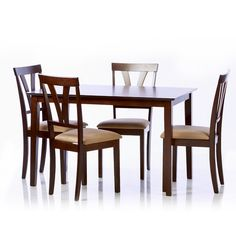 Andover Mills Attucks 5-Piece Dining Set | Wayfair $224.99