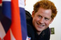 New career: Prince Harry, seen here  at the Mandarin Oriental, has announced plans for a charity trek