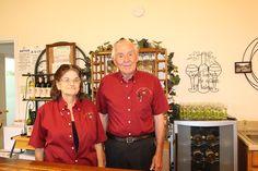 Beatrice and Emmett Schulze - Rosemary's Vineyard and Winery