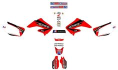 Honda CR125 R, CR 125R 2002-2012, Graphics decals! excellent quality,competition