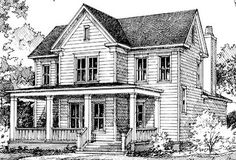 Covington Hill - Looney Ricks Kiss Architects, Inc. | Southern Living House Plans