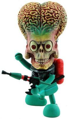 "Toy181 ""Martian Trooper (Short Gun)"" by Tim Burton from Mars Attacks! Series (2009) #Toy"