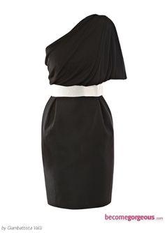 VOOM BY JOY HAN Sharon One Shoulder Dress