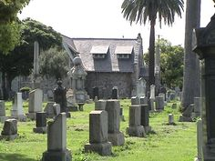 Evergreen Cemetery, Boyle Heights -- the oldest cemetery in Los Angeles.
