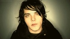 When he did the impossible and made chewing look sexy. | 21 Times Gerard Way Looked Ridiculously Good