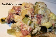Poêlée de courgette façon légumes farcis (Cookéo)