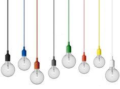 Lampada a sospensione E27 Pendant Lamp by MUUTO | design Mattias Ståhlbom