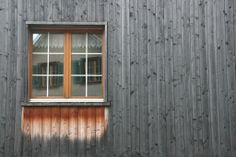 Window on Peter Zumthor's office. Lovely weathering.