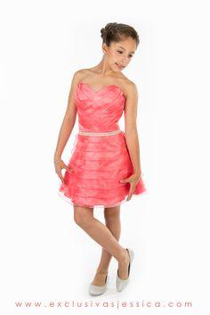 11d5987922 Jessica Vestidos  fiesta  gala  moda  drees  vestidos  juniors  graduación   graduaciones  mexico  DF  15Años  fifteen  graduation  ropa  cool  vestido  ...