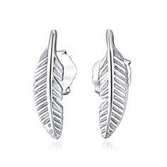 [USD9.82] [EUR9.14] [GBP7.07] 5 Pack Leaves Earrings (Specification: Delicate leaves earrings, Purity: Sterling Silver)