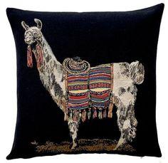 John Deere Logo Pink For Her Tapestry Square Pillow