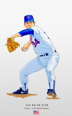 Nolan Ryan, Texas Rangers, Donald Duck, Disney Characters, Fictional Characters, Sports, Hs Sports, Sport, Fantasy Characters