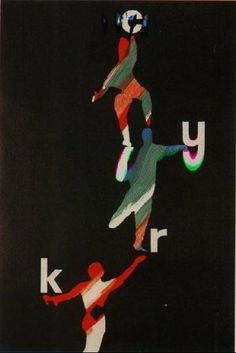 By Roman Cieslewicz, 1 9 6 3 standing acrobats, Polish circus/art posters. Graphic Design Art, Graphic Design Illustration, Graphic Design Inspiration, Illustration Art, Circus Poster, Circus Art, Cool Typography, Typography Prints, Polish Posters