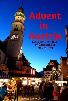 The Hall Christmas Market in Austria is set on a medieval square in the biggest old town in Tyrol. It is the best place to be for a traditional Advent celebration away from the tourist crowds.