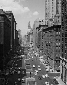 1940s elegant Park Avenue, NYC