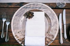 Place setting. LVL Weddings & Events/Photography: Brandon Kidd Photography/Venue: Olowalu Plantation House/Floral: Wild Heart Floral Design/Catering: Cafe O'Lei/Bartender: Garnish Cocktails/Beauty: 10.11 Makeup/Rentals: Pacific Isle Rentals, Winters Events, Set, and Signature Maui/Stationary: Miss B Calligraphy/Entertainment: Kevin Miso/Cinematography: Sunlit Films/Cake: Maui Sweet Cakes/Transportation: Hawaii Executive Transportation/Accomodations & Rehearsal Dinner: Westin Maui Resort…