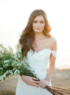 Photography: Jose Villa Photography - josevillaphoto.com Hair & Makeup: TEAM Hair & Makeup - teamhairandmakeupservice.com Wedding Dress: AriaDress - ariadress.com