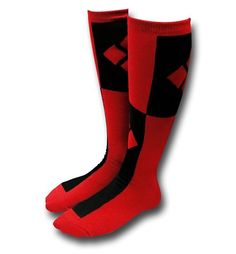 Harley Quinn Knee High Socks