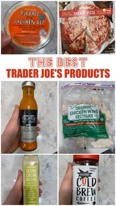 This is the MASTER LIST of the best healthy Trader Joe's products to buy!