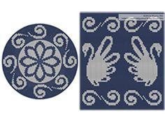 PATTERN: FAUNA Set of wayuu mochila patterns wayuu bag