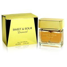 Parfum femme ,de famille orientale, avec une note dominante fruitée, pour une femme actuelle, avec une présentation luxueuse.