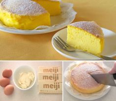 3 Ingredient Cheesecake Japanese Souffle