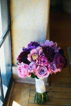 Purple Bouquet | photography by http://www.kenkienow.com/