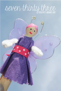Clothespin Fairy Dolls
